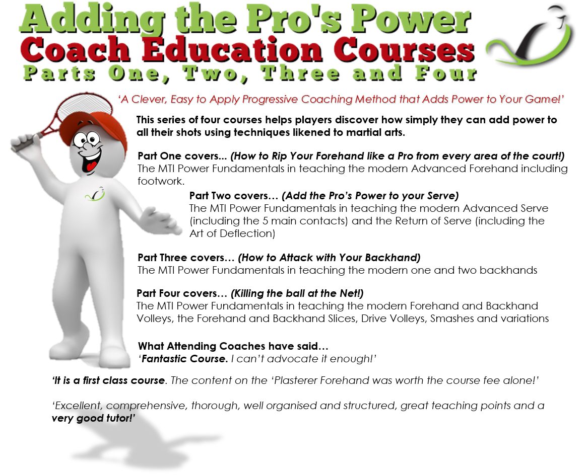 Adding the Pro's Power Coach Education Courses